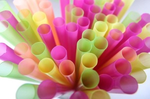 Image result for pile of straws trash IMAGE