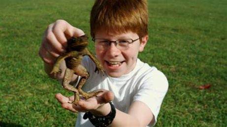 kid and frog 1
